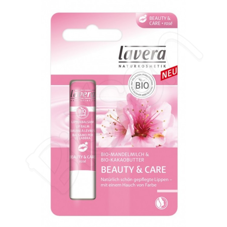 Balzam na pery Beauty & Care 4,5g Lavera