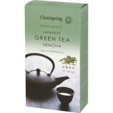 Sencha japonský zelený čaj 40g BIO Clearspring