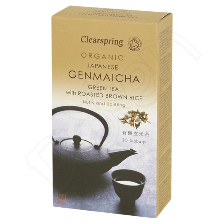 GENMAICHA japonský zelený čaj s ryžou BIO 40g Clearspring
