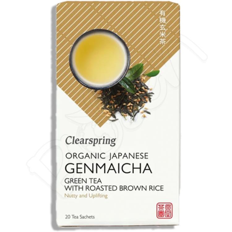 GENMAICHA japonský zelený čaj s ryžou BIO 36g Clearspring