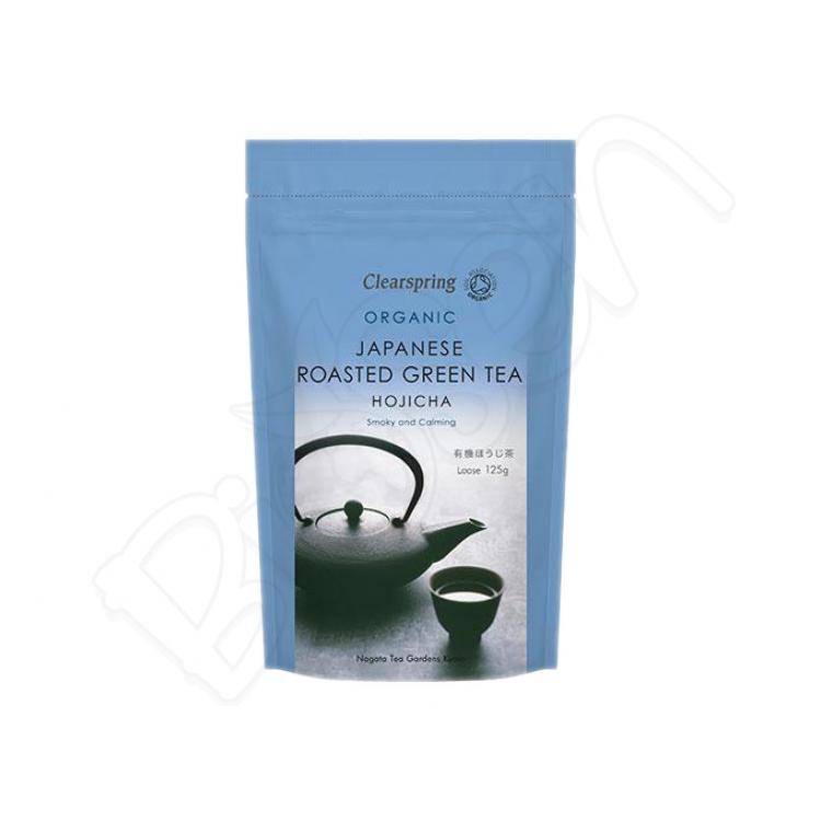HOJICHA japonský zelený čaj BIO 125g Clearspring