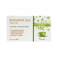 Konopný čaj 100% porciovaný 27g Cannavita