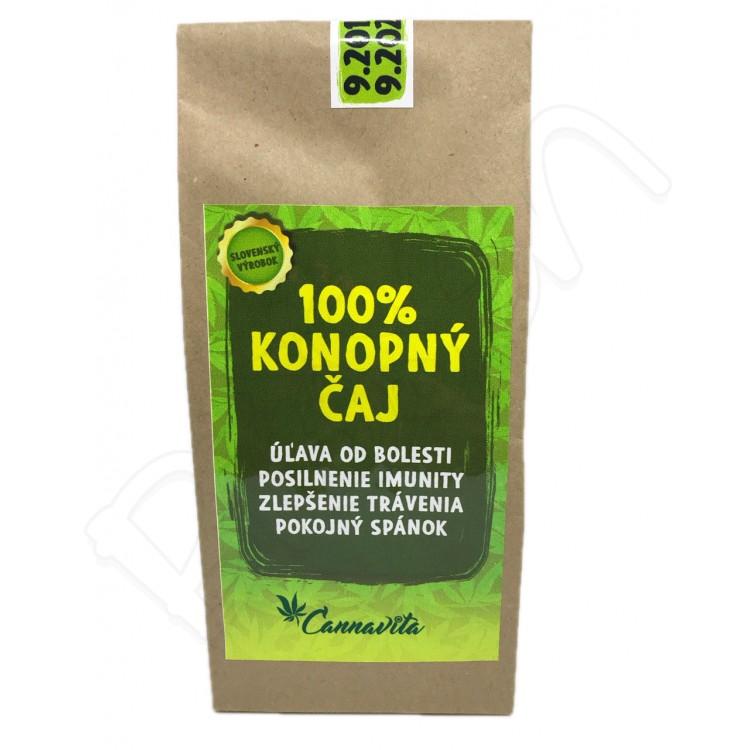 Konopný čaj 100% 20g Cannavita