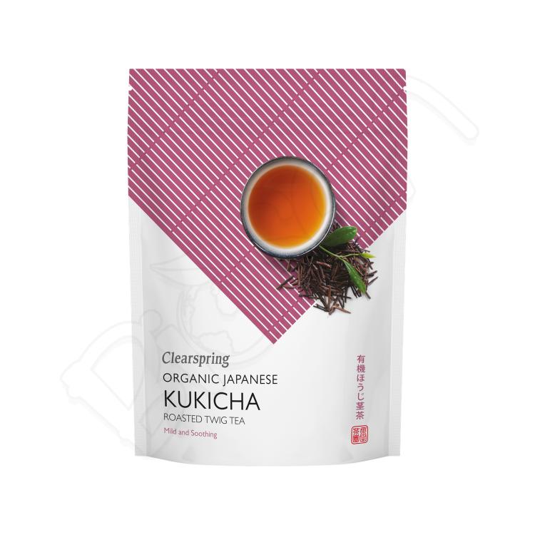KUKICHA japonský zelený čaj BIO 90g Clearspring