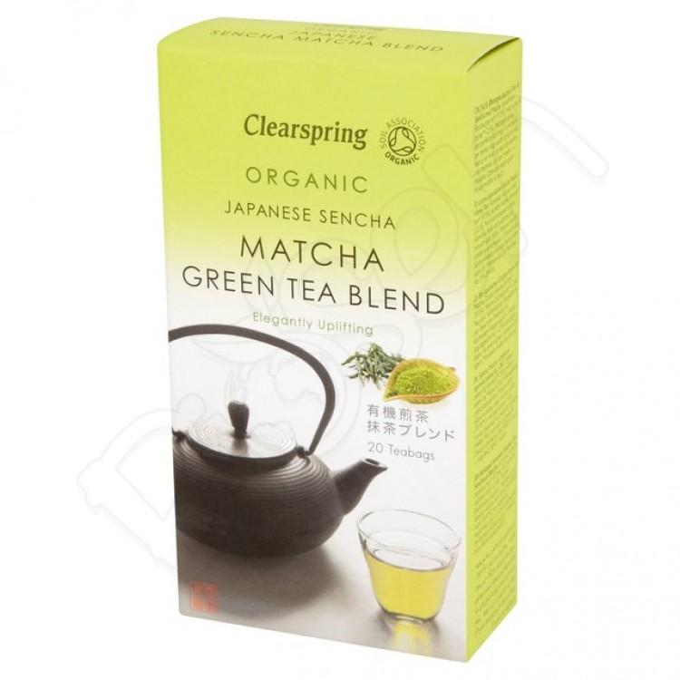 MATCHA čaj premium porciovaný 40g BIO Clearspring