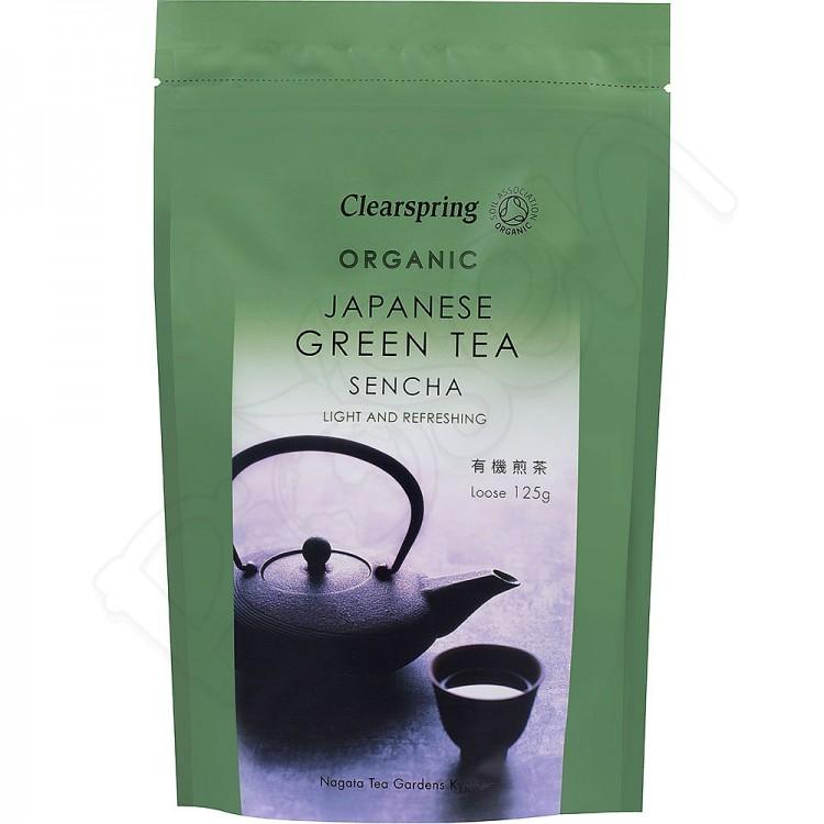 Sencha sypaný japonský zelený čaj BIO 125g Clearspring
