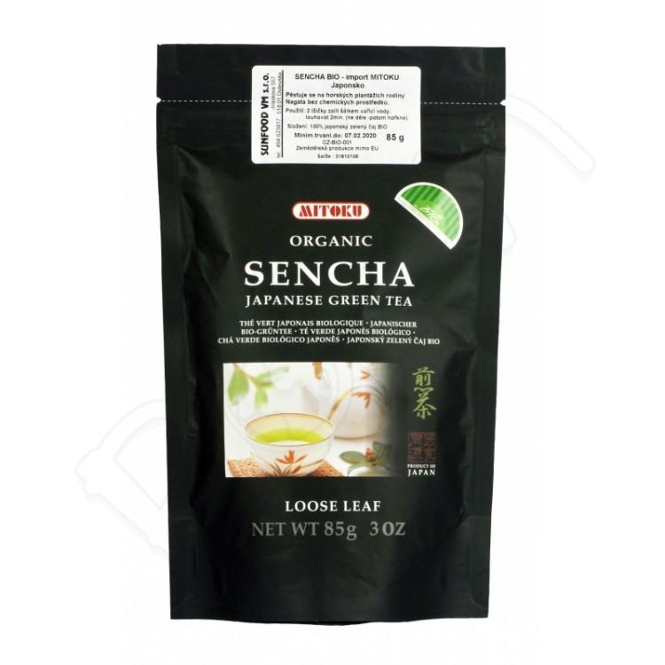 Sencha sypaný zelený čaj BIO 85g Mitoku