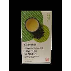 Matcha - Sencha japonský zelený čaj 36g BIO Clearspring