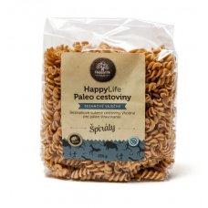 PALEO sezamové vaječné sušené cestoviny – ŠPIRÁLY 250g Happylife