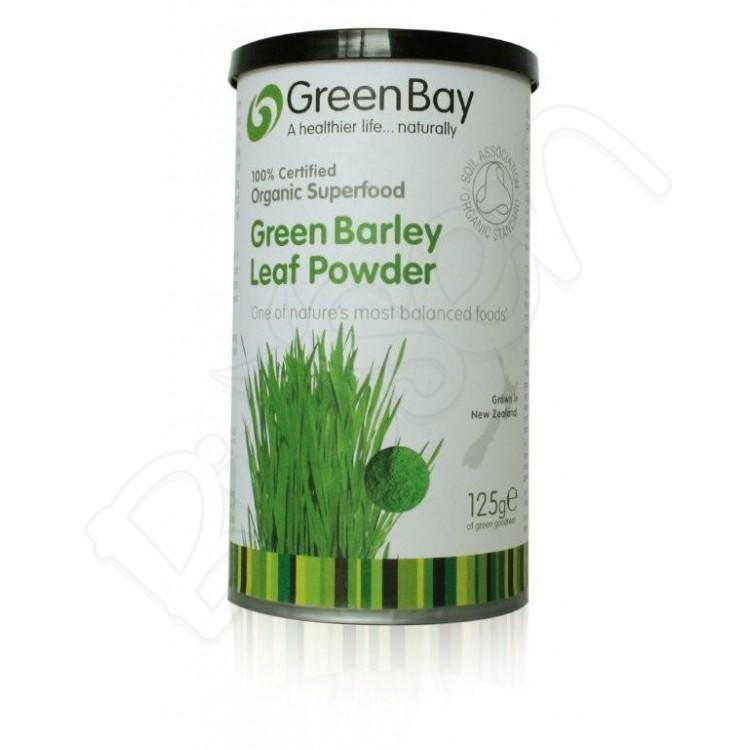 Zelený jačmeň BIO 125g GreenBay