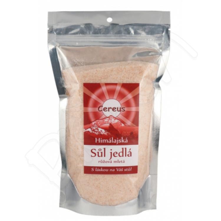 Himalájska soľ rúžová mletá 560g Cereus