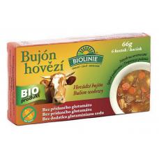 Bujón hovädzí - kocky BIO 6x11g Biolinie