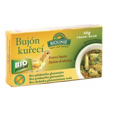 Bujón kurací - kocky BIO 6x11g Biolinie