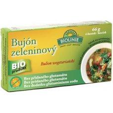 Bujón zeleninový - kocky BIO 6x11g Biolinie