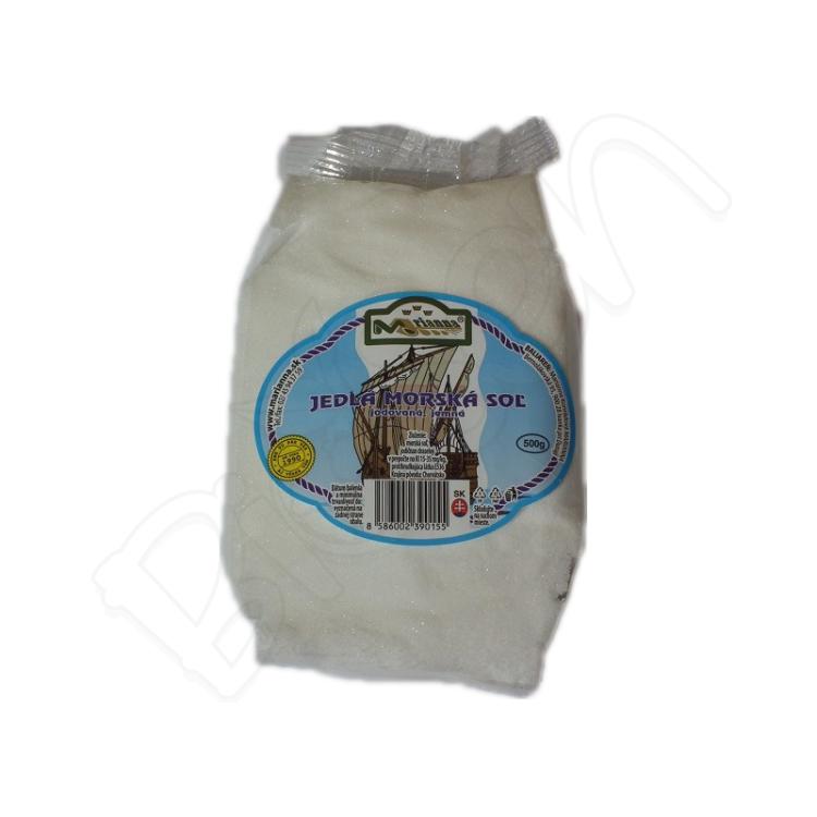 Jedlá morská soľ 500g Marianna