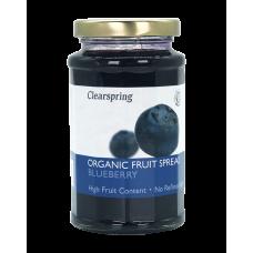Ovocná džemová nátierka - čučoriedka BIO 280g Clearspring