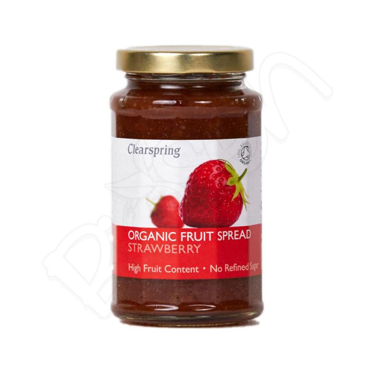 Ovocná džemová nátierka - jahoda BIO 280g Clearspring