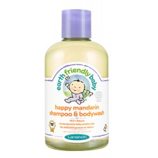 Šampón a sprchový gél MANDARÍNKA 2v1 250ml Earth Friendly Baby