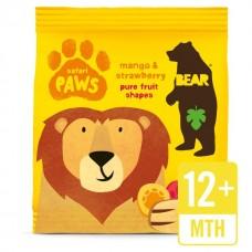 LABKY - SAFARI - mango a jahoda BIO 20g Bear nibbles