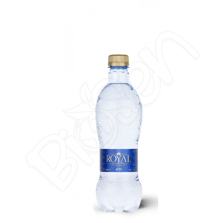 Ionized Water pH 9,3 0,5l Royal water