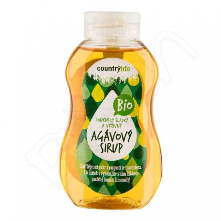 Sirup z agáve BIO 250ml Country Life