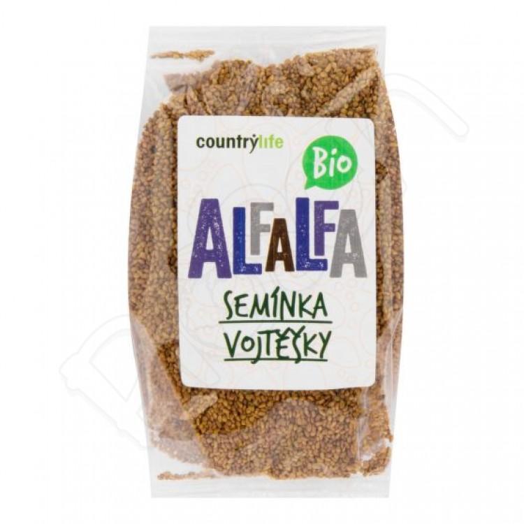 Alfalfa semená BIO 125g Country Life