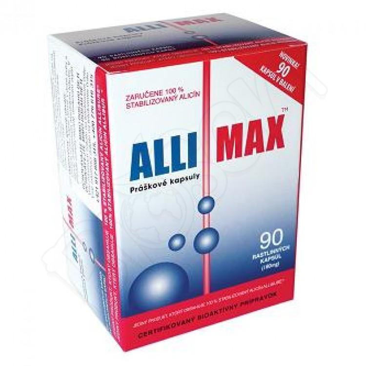 AlliMax 90 kapsúl - maximálna sila cesnaku AlliMax