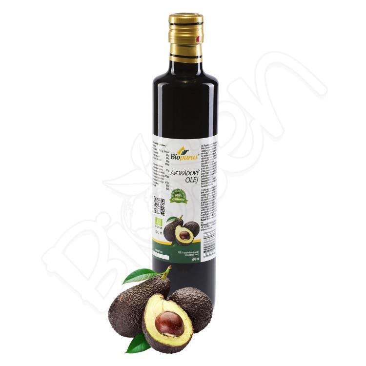 Avokádový olej 500ml BIO Biopurus