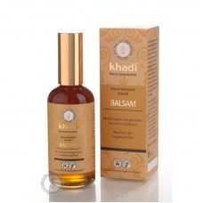 Vlasový olej BALZAM proti lupinám a svrbeniu pokožky hlavy 100ml Khadi