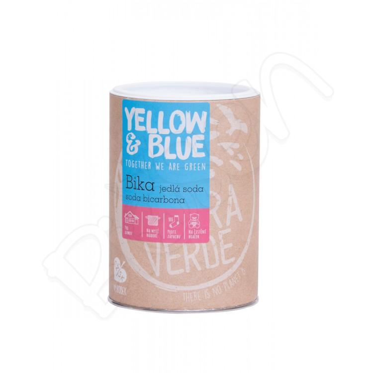 BIKA - sóda bikarbóna dóza 1kg Yellow & Blue