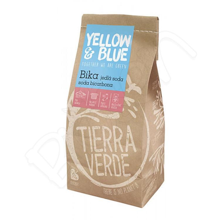 BIKA - sóda bikarbóna sáčok 1kg Yellow & Blue