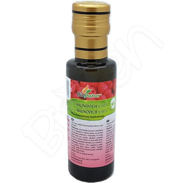 Olej z malinových semien BIO 100ml Biopurus