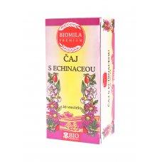 Echinacea čaj 40g BIO porciovaný Biomila