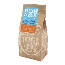 Čistiaci piesok z mydlových orechov 1kg Yellow & Blue