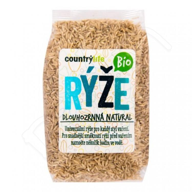 Dlhozrnná ryža naturál BIO 500g Country Life