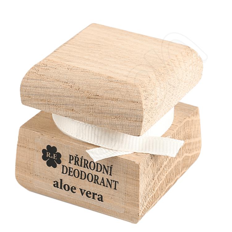 Prírodný krémový dezodorant s vôňou aloe vera 15 ml RaE