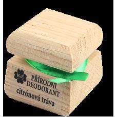 Prírodný krémový dezodorant s vôňou citrónovej trávy 15 ml RaE