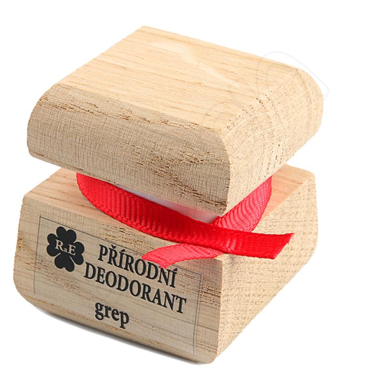 Prírodný krémový dezodorant s vôňou grepu 15 ml RaE