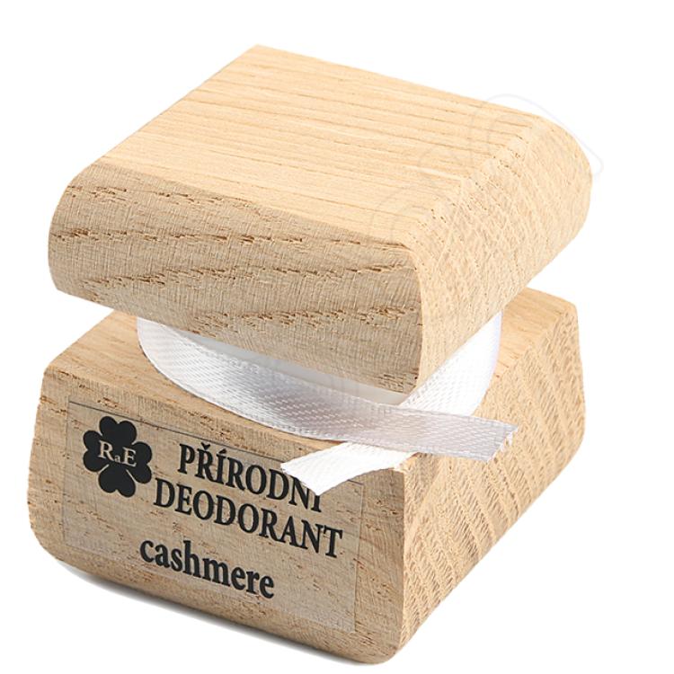 Prírodný krémový dezodorant s vôňou cashmere 15 ml RaE
