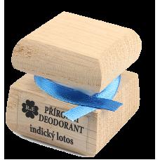 Prírodný krémový dezodorant s vôňou indický lotos 15 ml RaE