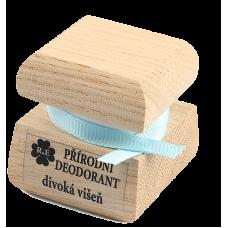 Prírodný krémový dezodorant s vôňou divokej višne 15 ml RaE