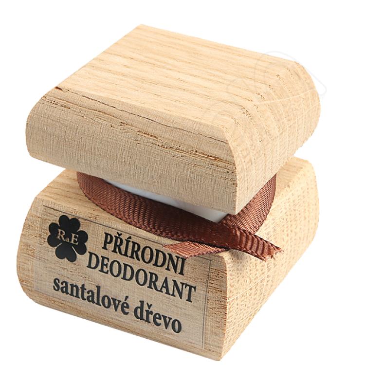 Prírodný krémový dezodorant s vôňou santalového dreva 15 ml RaE