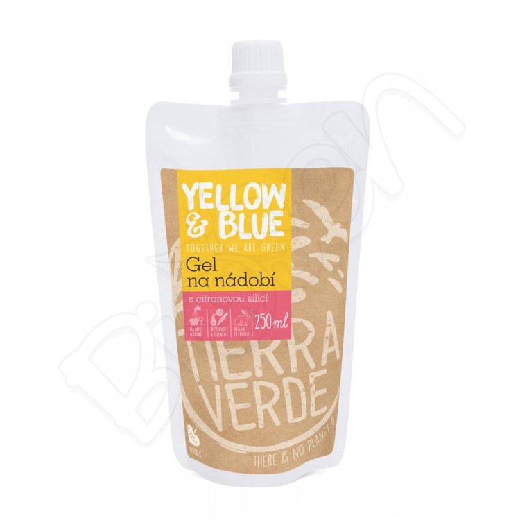 Gel na riad 250ml Yellow&Blue