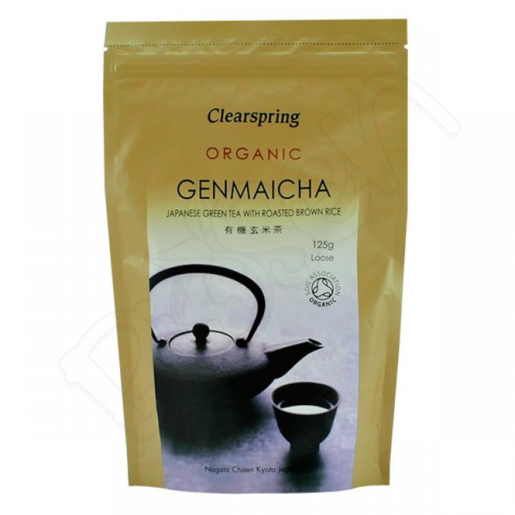 GENMAICHA japonský zelený čaj s ryžou BIO 125g Clearspring