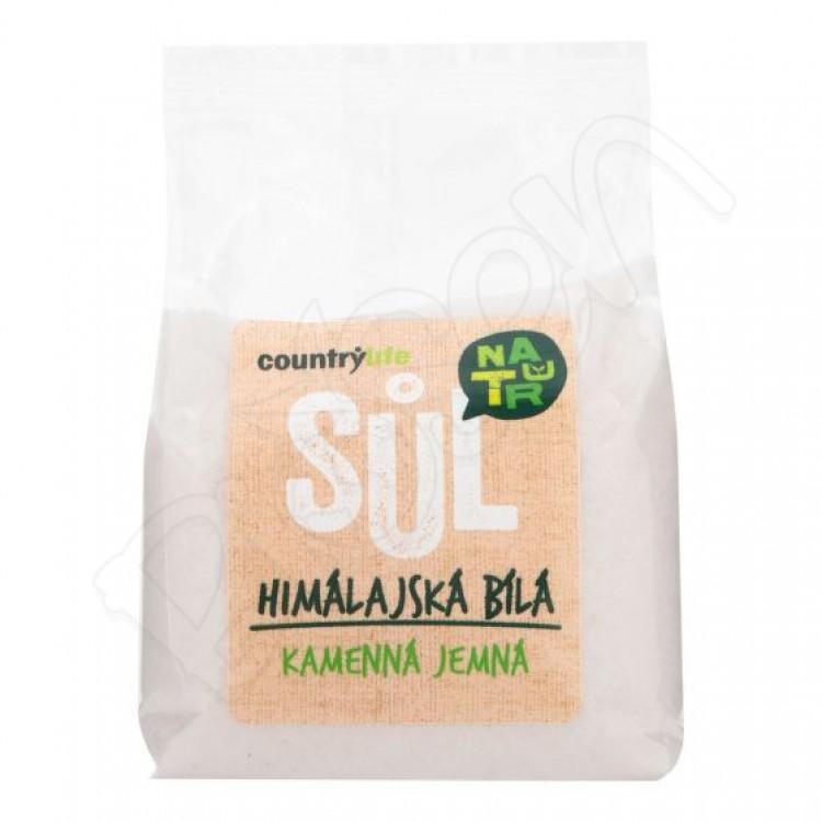Himalájska soľ - biela 500g Country Life