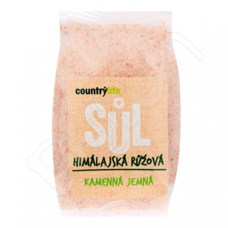 Himalájska soľ - ružová 500g Country Life