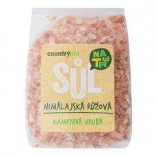 Himalájska soľ - ružová HRUBÁ 500g Country Life