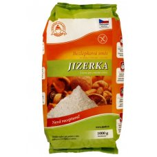 Jizerka bezlepková zmes 1kg Jizerské pekárny