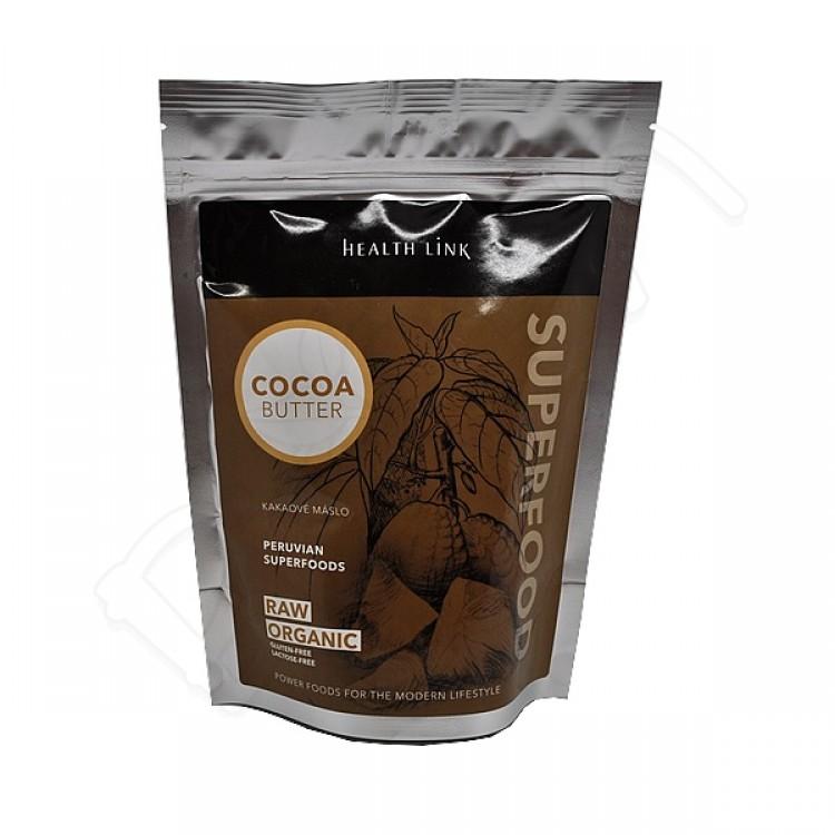 Kakaové maslo - kúsky BIO 250g Health Link