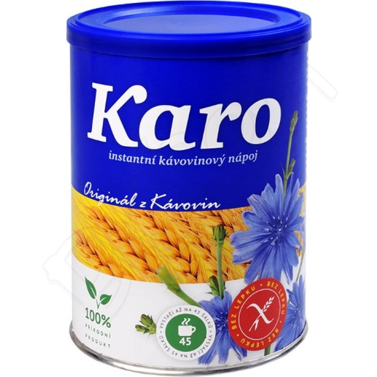 Karo - rozpustný kávovinový extrakt 180g Kávoviny